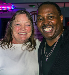 Judy Harrigan with Joe Morganfield