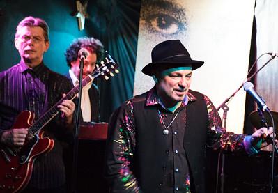 (l-r) Billy Flynn, Johnny Iguana and Matthew Skoller