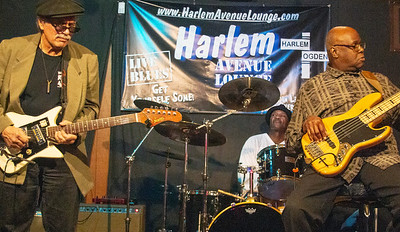 Studebaker John and the Hawks (Kenny Pickens, bass; Earl Howell, drums)