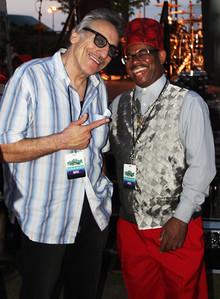 (l-r) Rick Estrin and Lil' Ed
