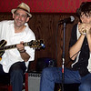 Rockin' Johnny Burgin (l) and Quique Gomez @ Big Bricks on June 5
