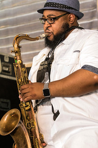 Sax player | Front Porch Stage