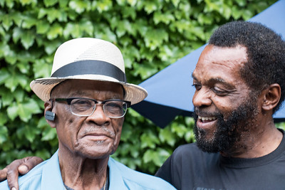 June 18 | Tony Brown (r) and his dad (on Father's Day!)