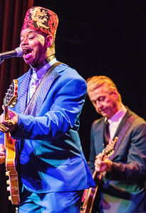 Lil' Ed and the Blues Imperials   Lil' Ed and Michael Garrett