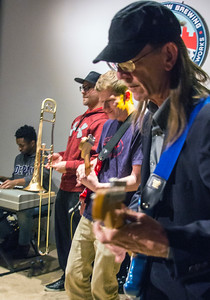 FEB 15 | (l-r) Emil Robinson, Ron Bones, Andrew Marshall, Reagan Prokofky and Tom Stover