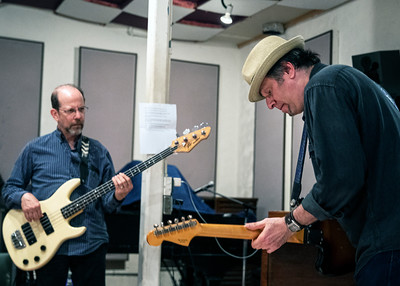 JUNE 5 | Harlan Terson (l) and Dave Specter @ Delmark's Riverside Studio