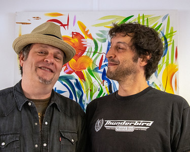 JUNE 5 | Dave Specter (l) with Quique Gomez  @ Delmark's Riverside Studio