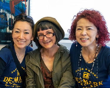JUNE 5 | The Osaka Blues Women with City News owner @ Delmark's Riverside Studio