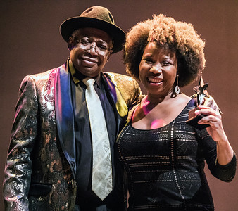 BLUES ROYALTY: Freddie Dixon and Mercy Morganfield