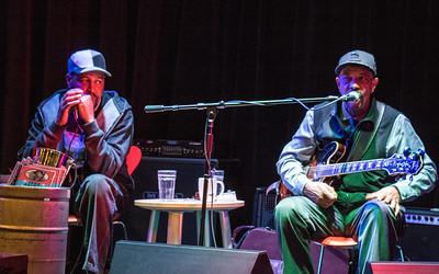 (l-r) Steve Bell and John Primer