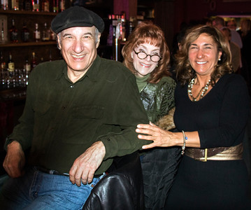 (l-r) Dick Shurman and his wife and Toni