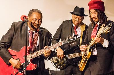 (l-r) John Watkins, Freddie Dixon and Michael Damani