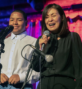 Masaki, wife of Otis Rush, and her grandson