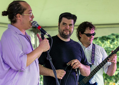 (l-r): Andy Smith, Paul Schwoerer and Tim Payne | Madtown Mannish Boys