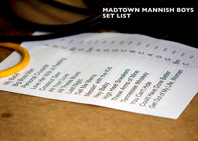 A set list