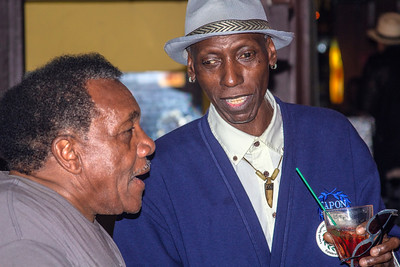 Willie Buck (l) with Larry Taylor