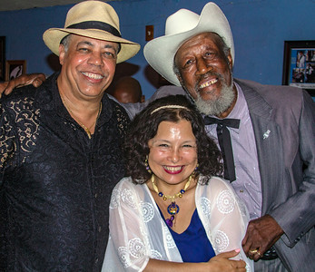 Tail Dragger (r) with Billy Branch and Rose Enrico Branch