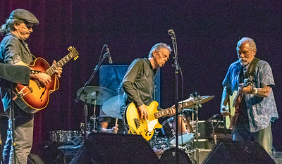 (l-r) Steve Kimock, Jack Casady and Jorma Kaukonen | Hot Tuna Electric