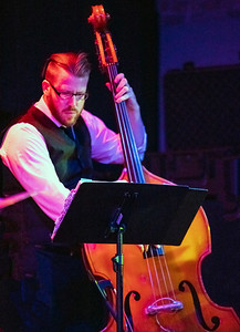 Upright bass player | Davina and the Vagabonds