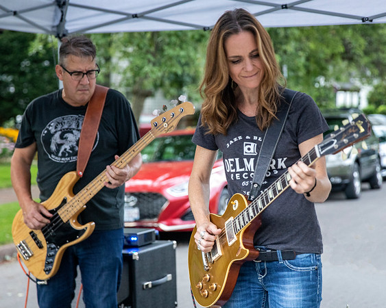 Tom Rezetko and Kat Moss | Smiley Tillmon Band