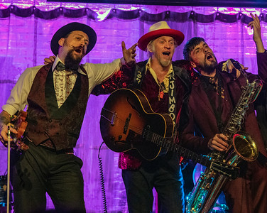 (l-r) Dr. Sick, Jimbo Mathus and Henry Westmoreland | Squirrel Nut Zippers | Squirrel Nut Zippers