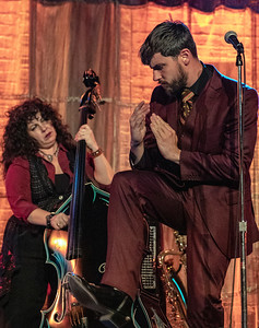 Henry Westmoreland  (r) and Tamara Nicolai | Squirrel Nut Zippers