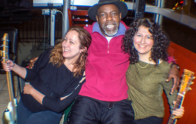 (l-r) Heather Tackett Falduto, Lurrie Bell and Donna Herula