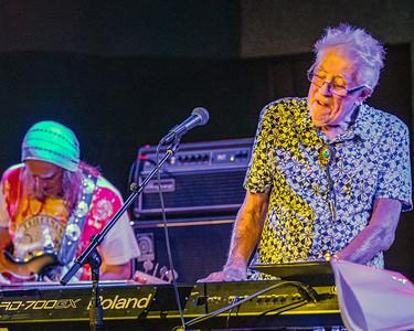 Greg Rzab  (l) and John Mayall  | John Mayall Band