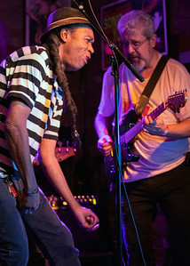 Joe Thomas (l) and Dave Katzman