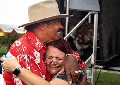 Benny Turner with Carolyn Wonderland