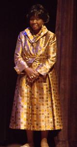 "Joyce ""Cookie"" Taylor Threatt, daughter of the great Chicago blues singer Koko Taylor"