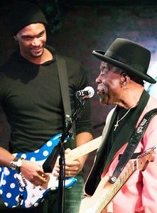 Buddy Guy with NBA player Chris Bosch | JAN 8, Legends