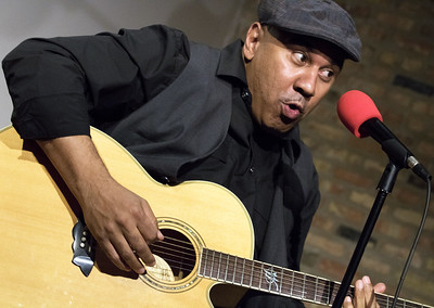 Ronnie Baker Brooks | Original Chicago Blues Allstars Jam, JAN 19, Motor Row Brewing