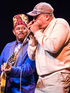 Lil' Ed (l) with Billy Branch | Alligator Blues Festival, MAR 4, The Grand Opera House, Oshkosh, WI