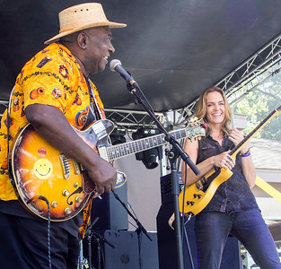 Smiley Tillmon and Kate Moss | Smiley Tillmon Blues Band