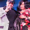 Legends MC Johnny with Demetria Taylor