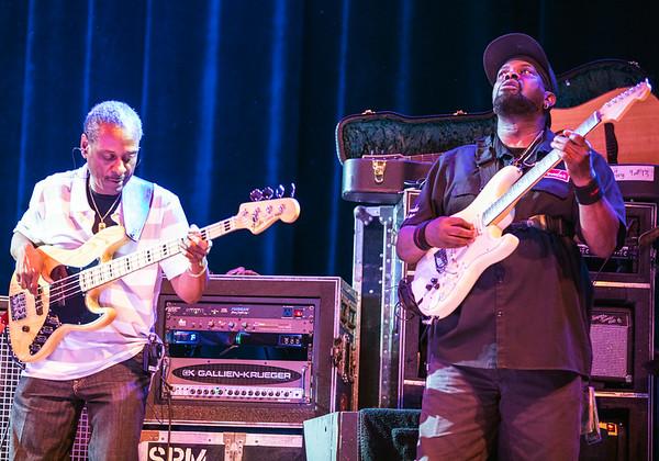 Orlando Wright (l) and Ric Jaz