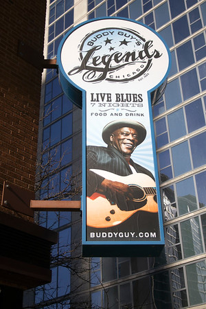 Outside the home of the king of Chicago Blues