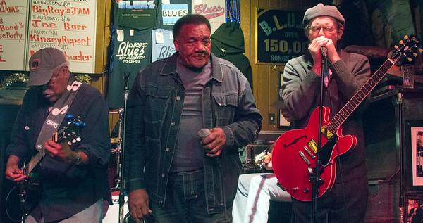 (l-r) Jimmy Burns, Willie Buck and Billy Flynn