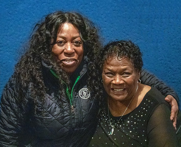 Brenda Taylor (l) with Mary Lane
