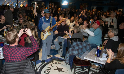 Buddy Guy tears through the audience at Legends