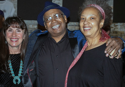 Linda Cain (Chicago Blues Guide) with Freddie Dixon and Friend