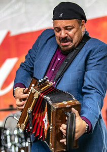 Terrance Simien (Terrance Simien and the Zydeco Experience) | Budweiser Crossroads Stage
