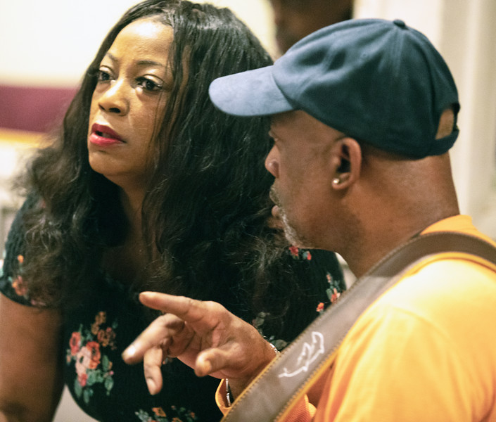 Demetria Taylor with Melvin Smith | Delmark Rehearsal for Blues Fest