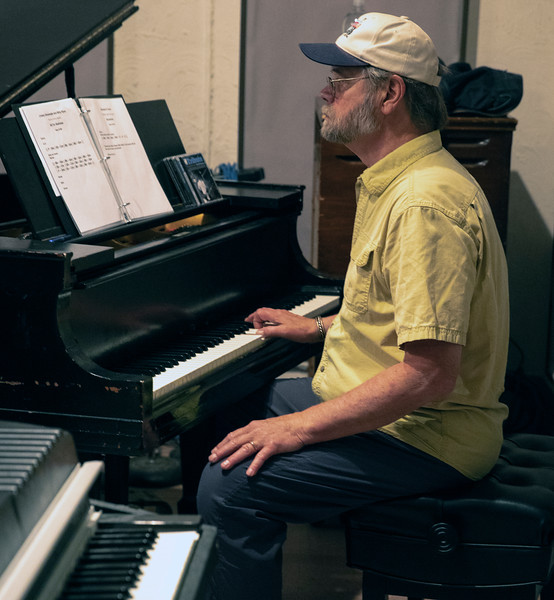 Ken Saydak | Delmark Rehearsal for Blues Fest