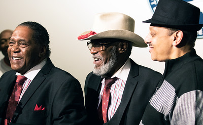 (l-r) John Watkins, Jimmy Tillman, Kirk Jones