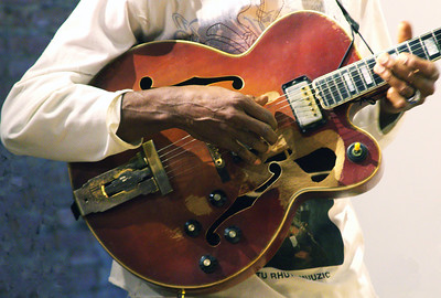 Doktu Rhute's guitar