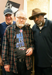 (l-r) Dick Shurman, Bob Koester and Lurrie Bell