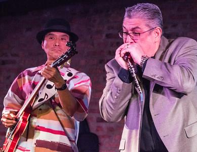 Shoji Naito (l) and Jamie Sheets