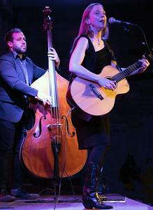 Eilen Jewell and Bass Player | Eilen Jewell Band